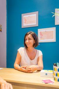 Sandrine Becherini, réflexologue à Avignon